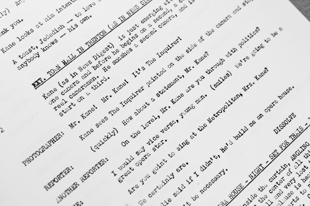 how to nail your screenplay format the mindful writer